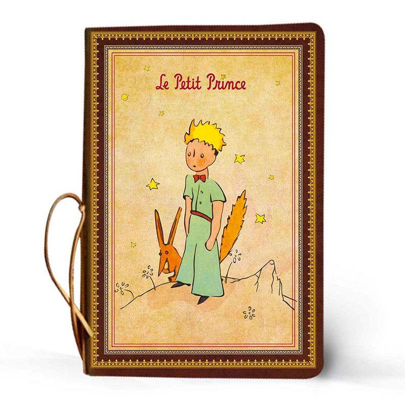 Kaustik LE PETIT PRINCE Classique, 140x205 mm, pehmed kaaned, bordoo
