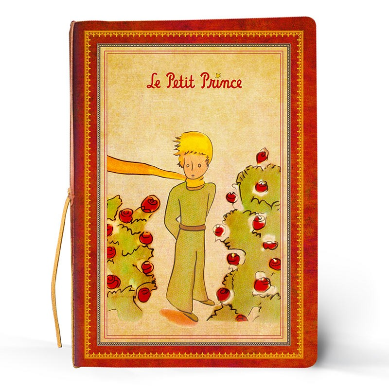 Kaustik LE PETIT PRINCE Classique, 182x258 mm, pehmed kaaned, roosa