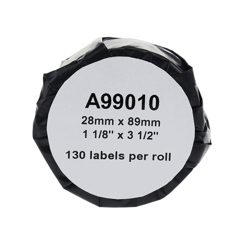 Markeerimislint Dymo LabelWriter 89x28mm 130tk, 2 rull analoog