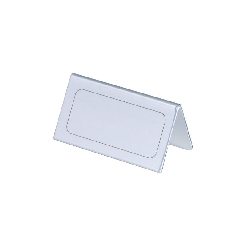 Nimesildialus lauale Durable 52/104 x 100mm, jäik PVC