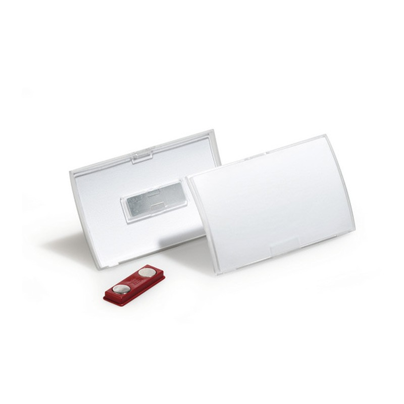 Nimesildihoidja Durable Click Fold magnetiga 54x90 mm, 10 tk