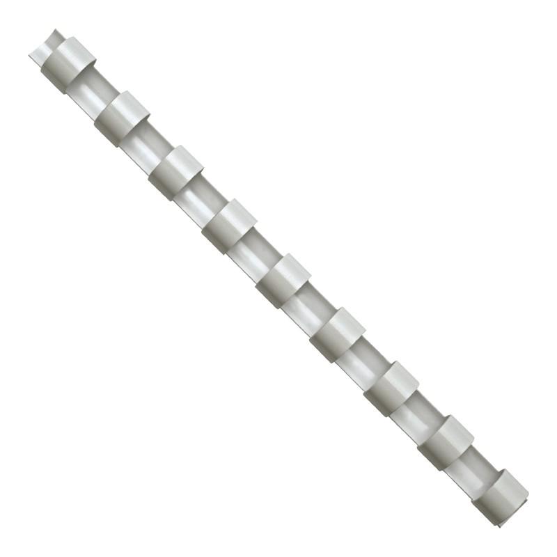 Köitespiraalid Fellowes 6mm, valge 100tk