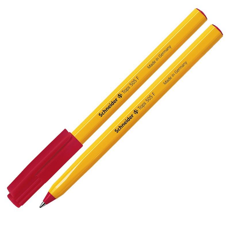 Pastapliiats Schneider Tops 505F 0.7mm korpus kollane/tint punane