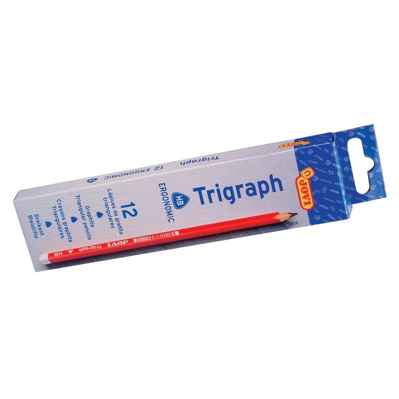 Harilik pliiats JOVI Triangular, kolmnurkne, HB, d7.5mm