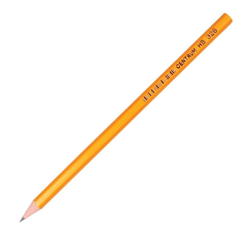 Harilik pliiats CENTRUM 326, HB, teritatud