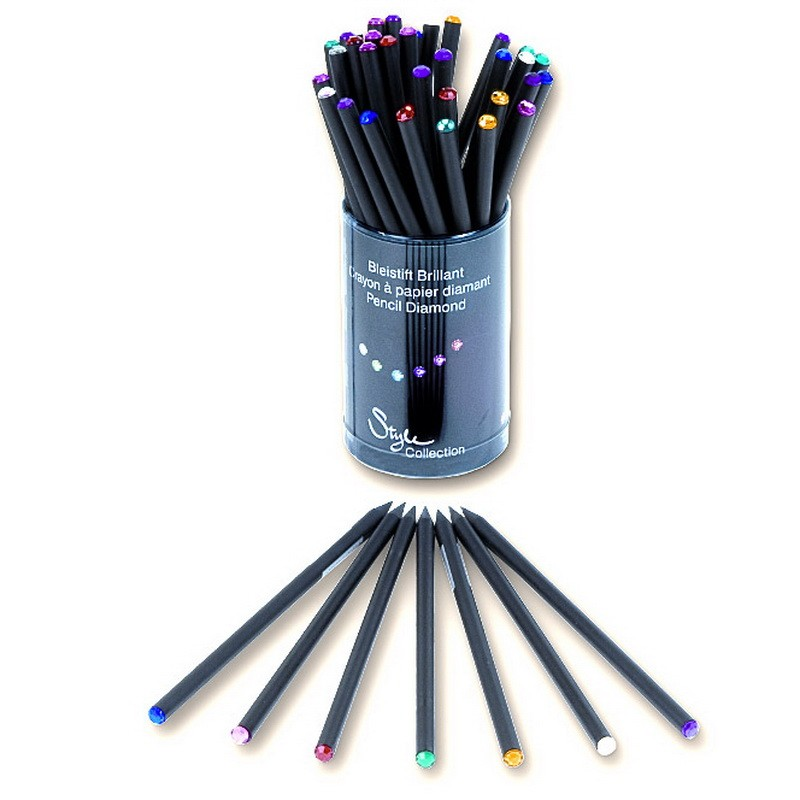 Harilik pliiats Brunnen Gem Style musta korpusega