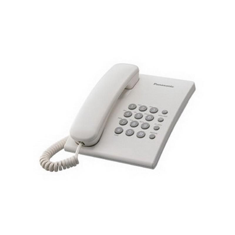 Telefon Panasonic KX-TS500FXW valge