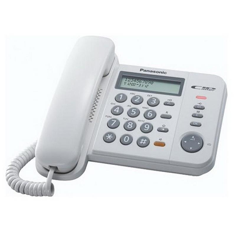 Lauatelefon PANASONIC KX-TS580FXW valge