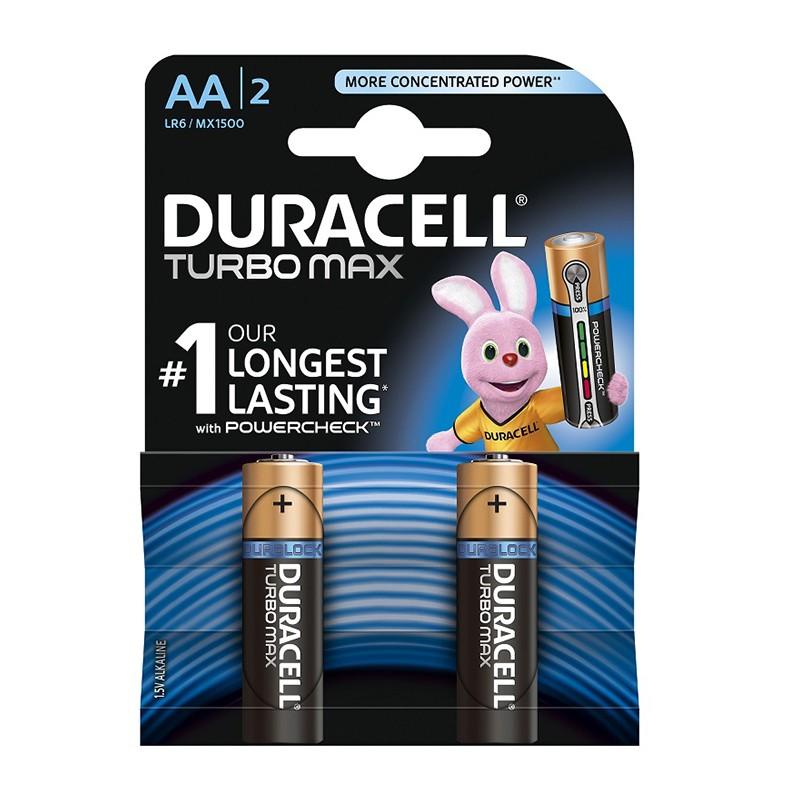 Patarei Duracell Turbo AA LR06, 2tk