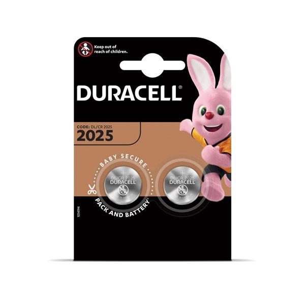 Patarei Duracell 2025, 2 tk
