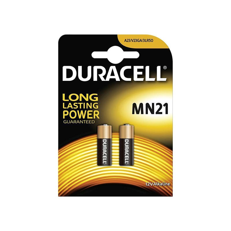 Patarei DURACELL MN21, 2 tk