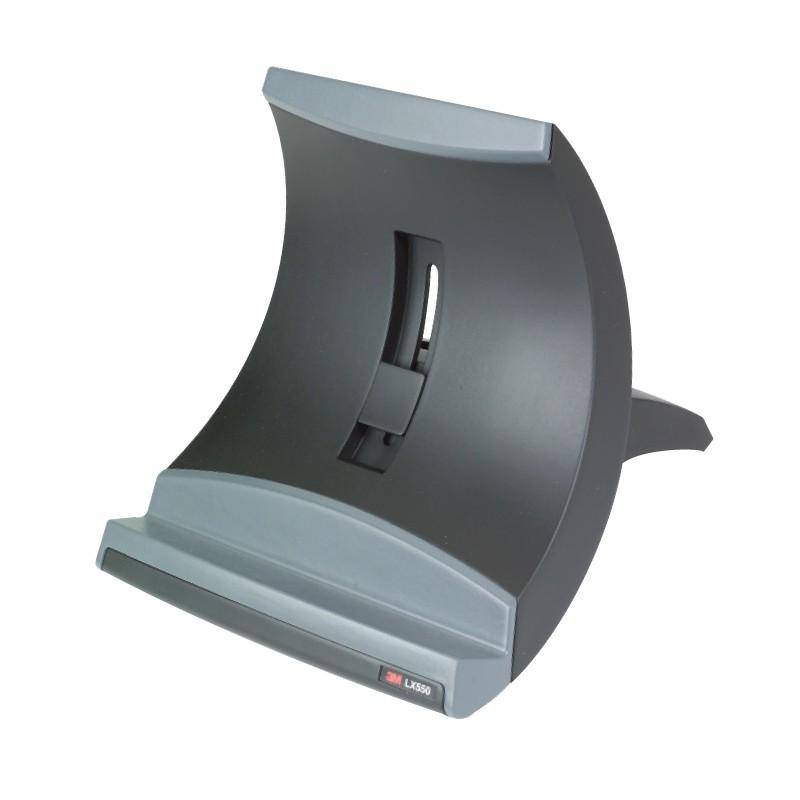 Sülearvutialus 3M LX550, must-hall, ergonoomilline  ERGN