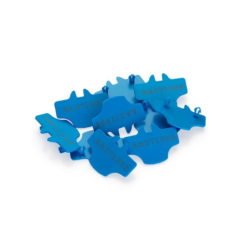 Turvaplommid plastikust, 500 tk / pakendis, ilma numeratsioonita