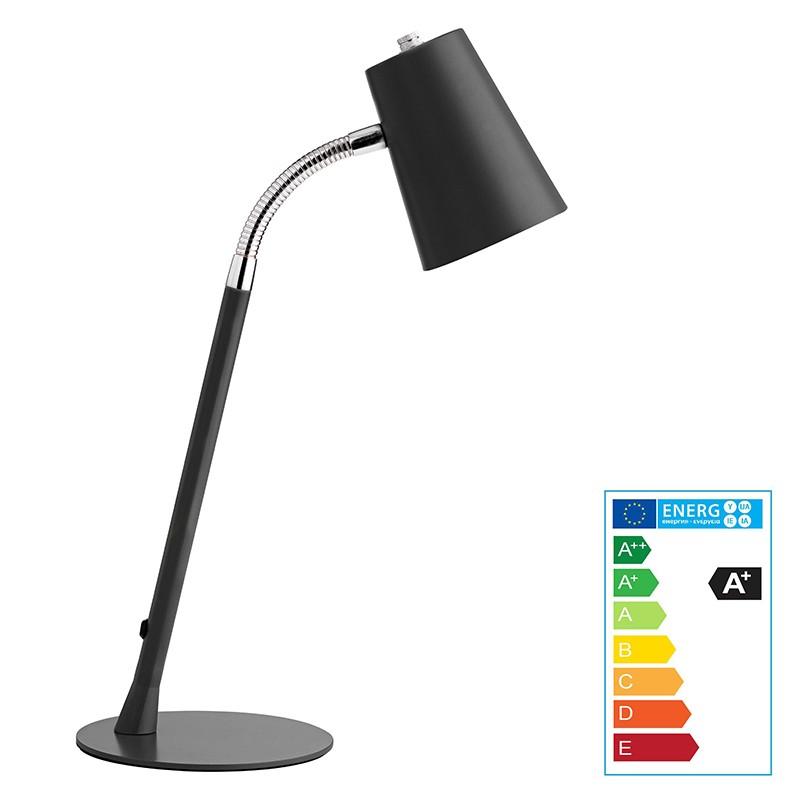 Laualamp Unilux Flexio 2 LED, must