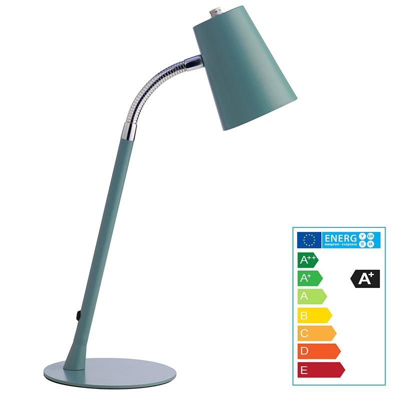 Laualamp Unilux Flexio 2  LED, sinine