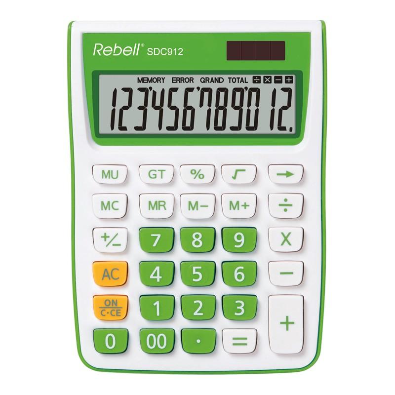 Kalkulaator Rebell RE-SDC912GR BX