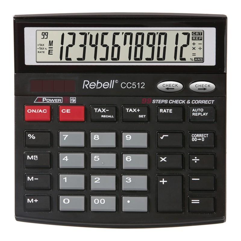 Kalkulaator Rebell RE-CC512 BX