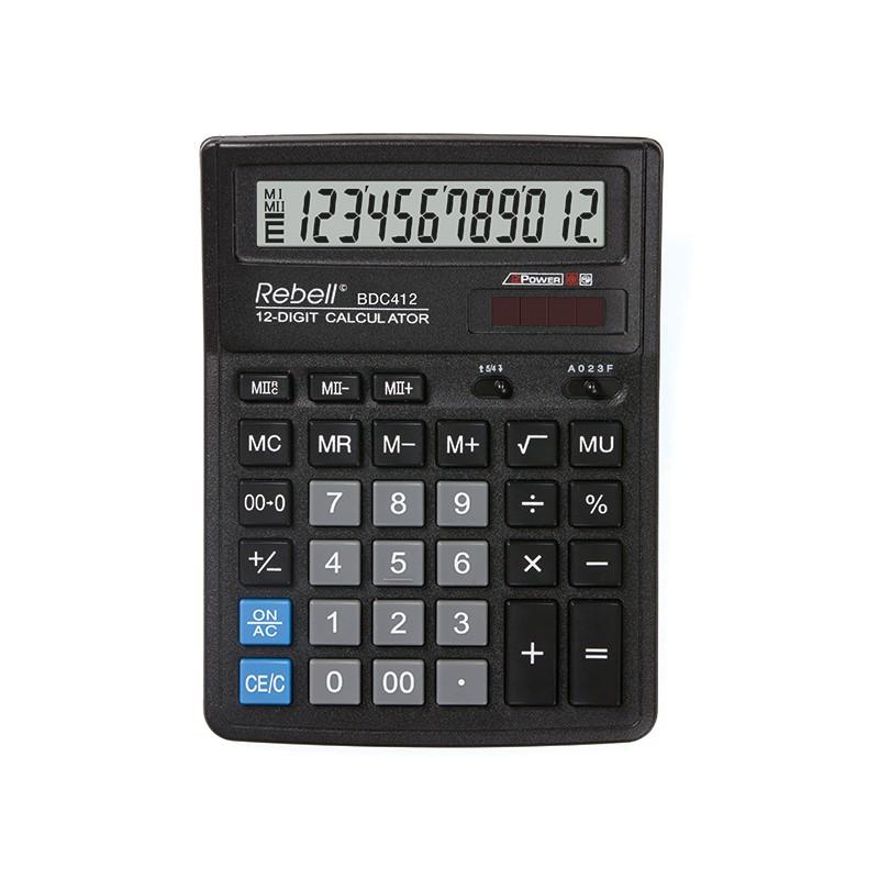 Kalkulaator RE-BDC412 BX
