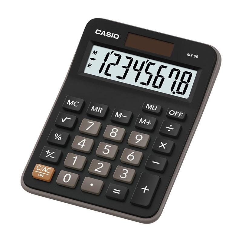 Kalkulaator CASIO MX-8B, 147 x 106 x 29 mm