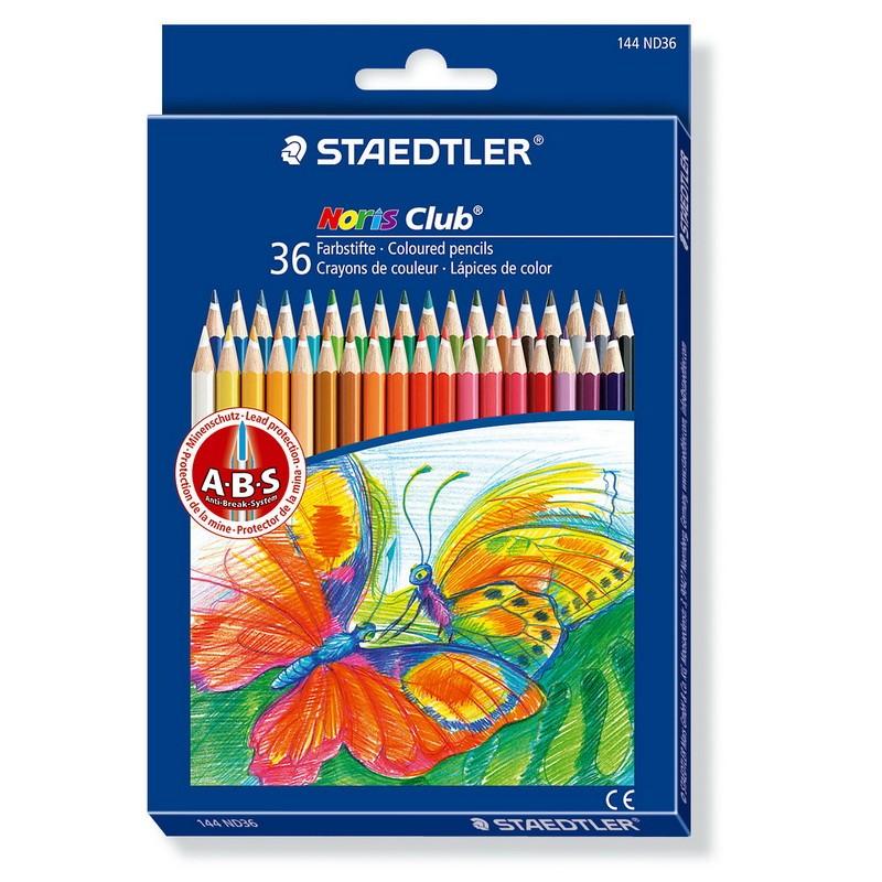 Värvipliiatsid Staedtler Noris Club 144, 36 värvi