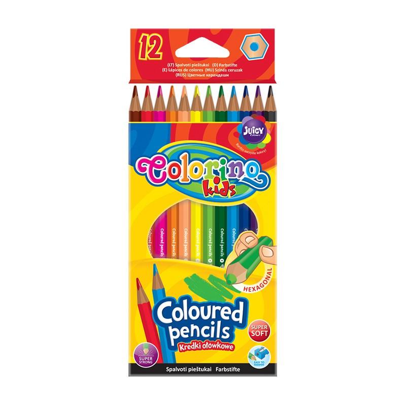 Värvipliiatsid Colorino Kids, 12 värvi