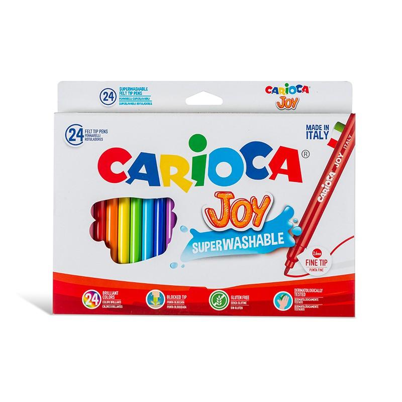 Viltpliiatsid Universal Joy, 24 erinevat värvi