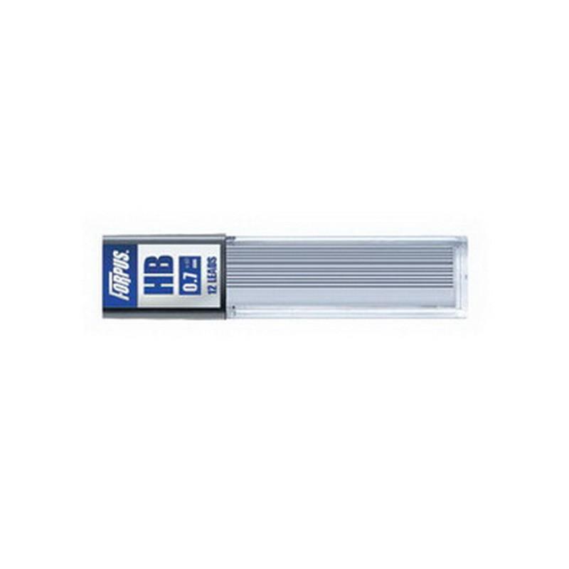 Mehaanilise pliiatsi terad Forpus 0,7 mm HB