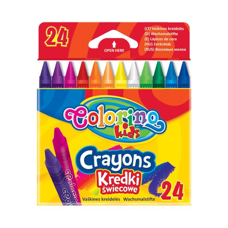 Vahakriidid Colorino, 24 värvi