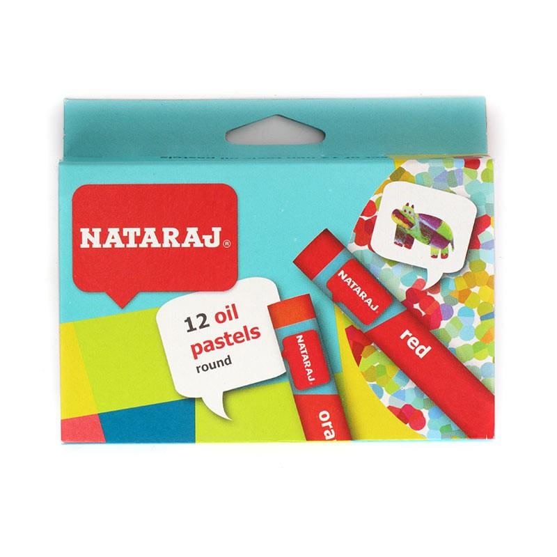 Rasvakriidid Nataraj 90mm, 24 värvi