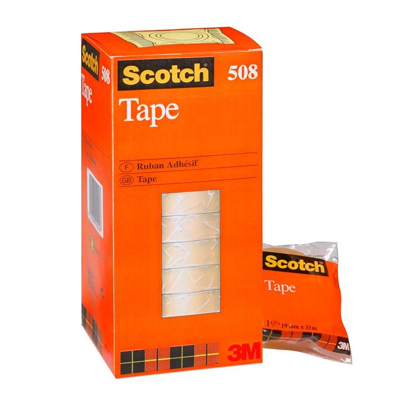 Teip 3M Scotch 508, 19mm x 33m, läbipaistev