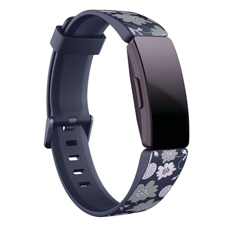Fitbit Inspire Print Accessory Band, large, bloom