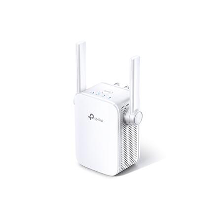 TP-LINK Extender RE305 802.11ac, 2.4GHz/5GHz, 300+867 Mbit/s, 10/100 Mbit/s, Ethernet LAN (RJ-45) ports 1, Antenna type 2xExternal