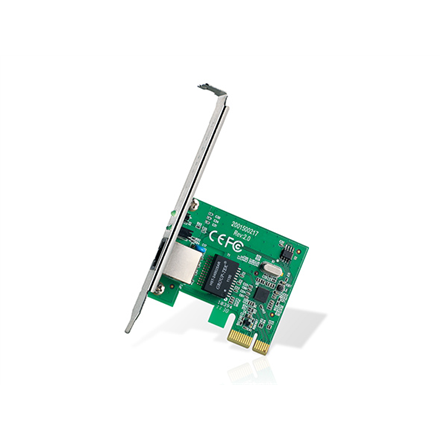 TP-LINK PCI Express Network Adapter TG-3468 1x10/100/1000 Mbps port, 32-bit PCI Express