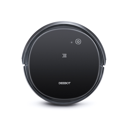 Ecovacs Vacuum cleaner DEEBOT 500 EU	 Dry, Operating time (max) 110 min, Lithium Ion, 2600 mAh, Dust capacity 0.52 L, 65.6 dB, Black, Battery warranty 24 month(s)