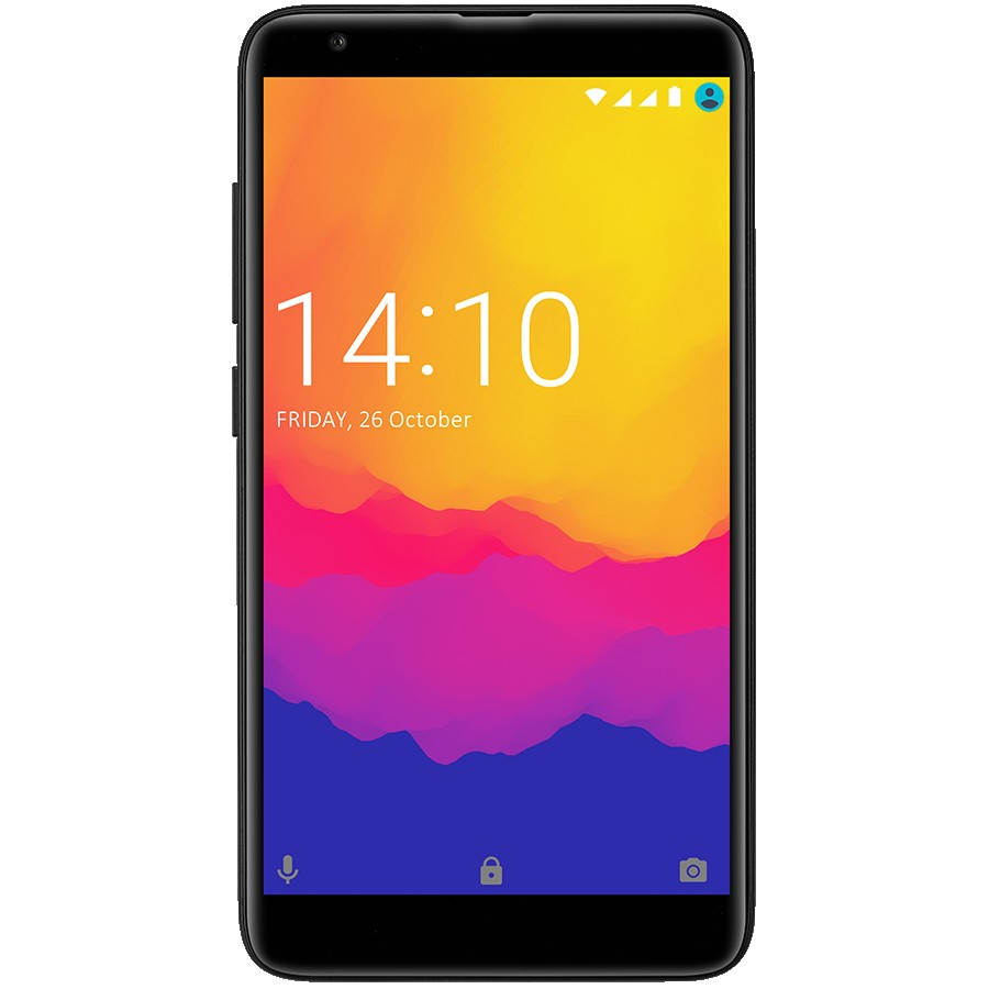 "Prestigio, Muze J5, 3G, PSP5524DUO, Dual SIM, 5.2"", HD(1280*720), IPS, 2.5D, Android 8.1 Oreo, Quad-Core 1.3GHz, 2GB RAM+16Gb eMMC, 5.0MP front+8.00MP AF + 0.3MP dual rear camera with flash light, 2500mAh battery, Fingerprint, Dark night"