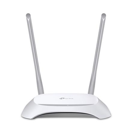 TP-LINK Router TL-WR840N 802.11n, 300 Mbit/s, 10/100 Mbit/s, Ethernet LAN (RJ-45) ports 4, Antenna type 2xExternal