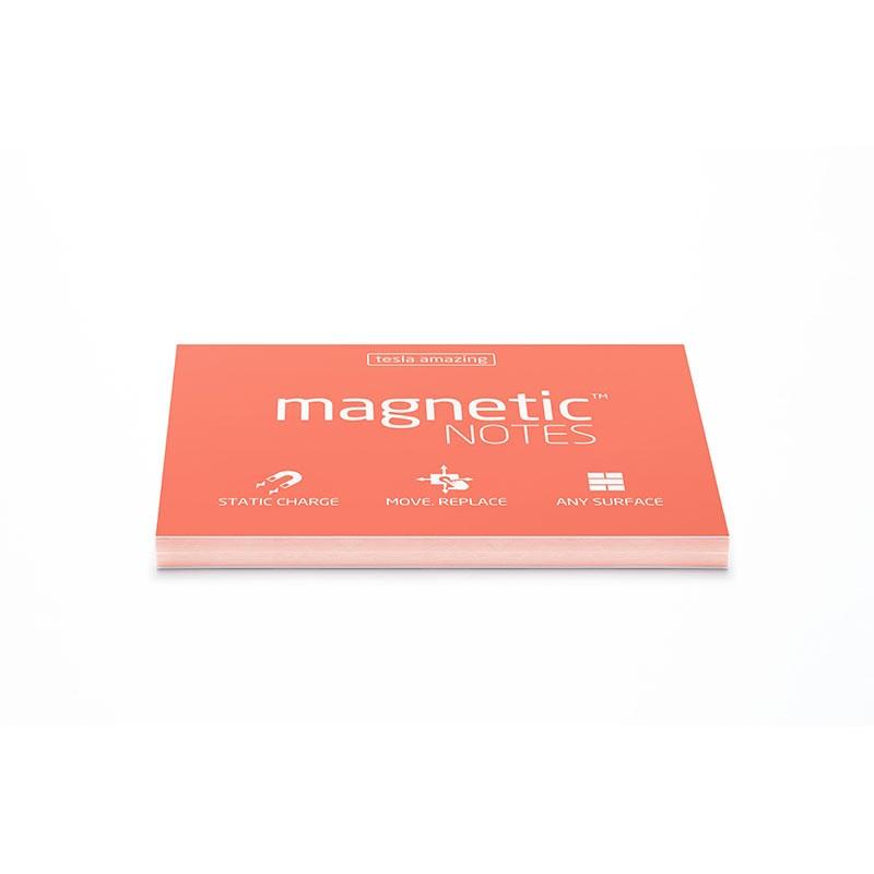 Märkmepaber staatiline Tesla Amazing Magnetic Notes Spring, 100x70mm, 100 lehte