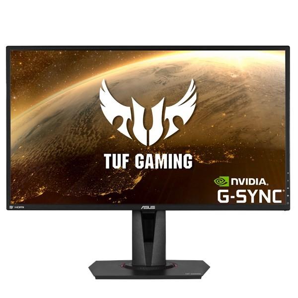 "ASUS TUF Gaming VG27AQ 68,6 cm (27"") 2560 x 1440 pikslit Quad HD LED Must"