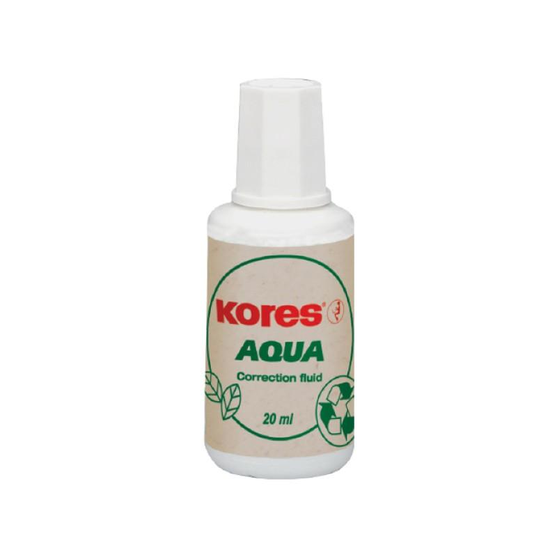 Korrektuurvärv Kores Aqua 20ml