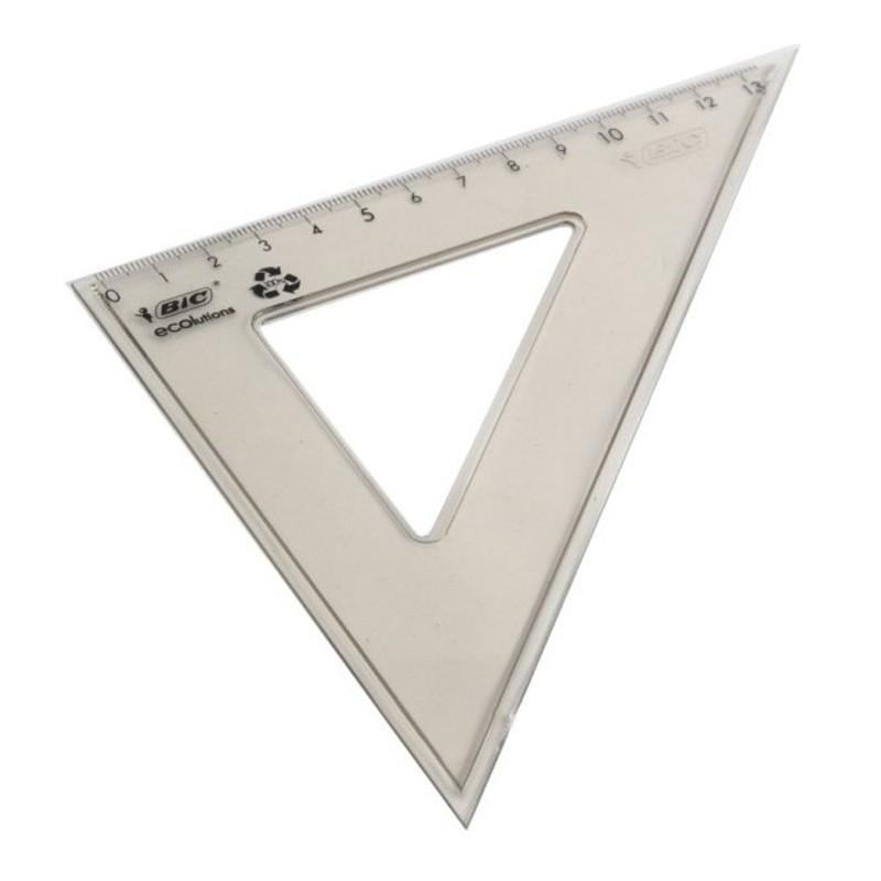 """Joonlaud kolmnurk BIC 45"""", 21cm"""