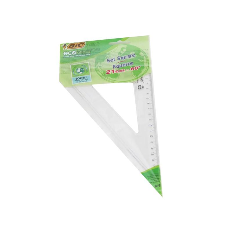"""Joonlaud kolmnurk BIC 60"""", 21cm"""