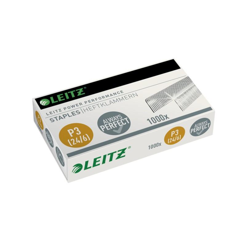Klambrid Leitz 24/6, 1000 tk