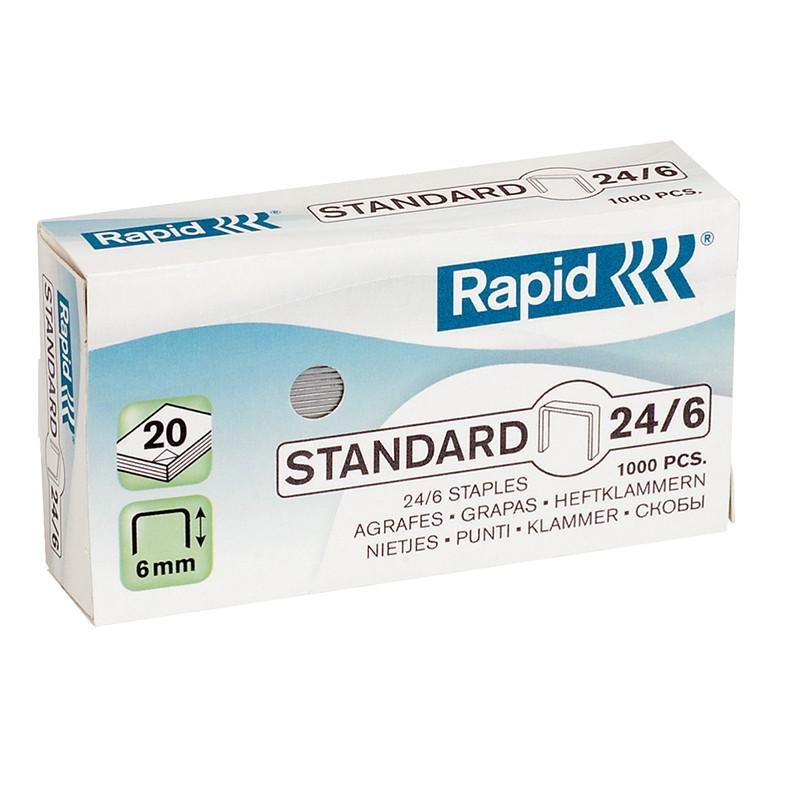 Klambrid Rapid Standard 24/6, 1000 tk