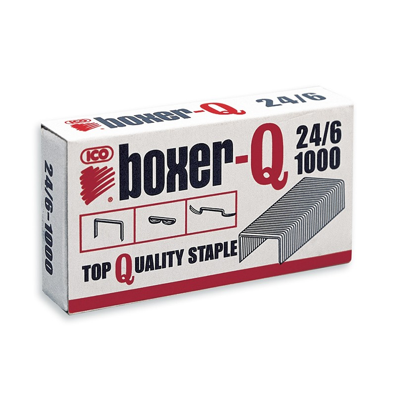 Klambrid ICO Boxer-Q, 24/6, 1000tk