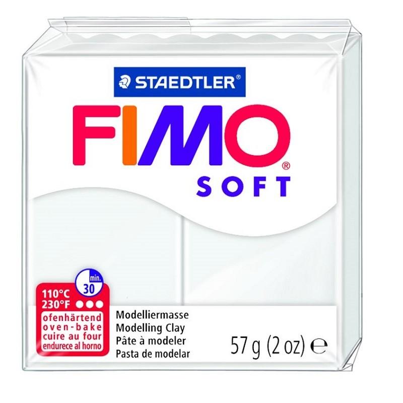Voolimismass FIMO SOFT 57g, valge