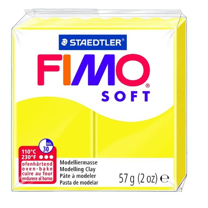Voolimismass FIMO SOFT 57g, sidrunikollane