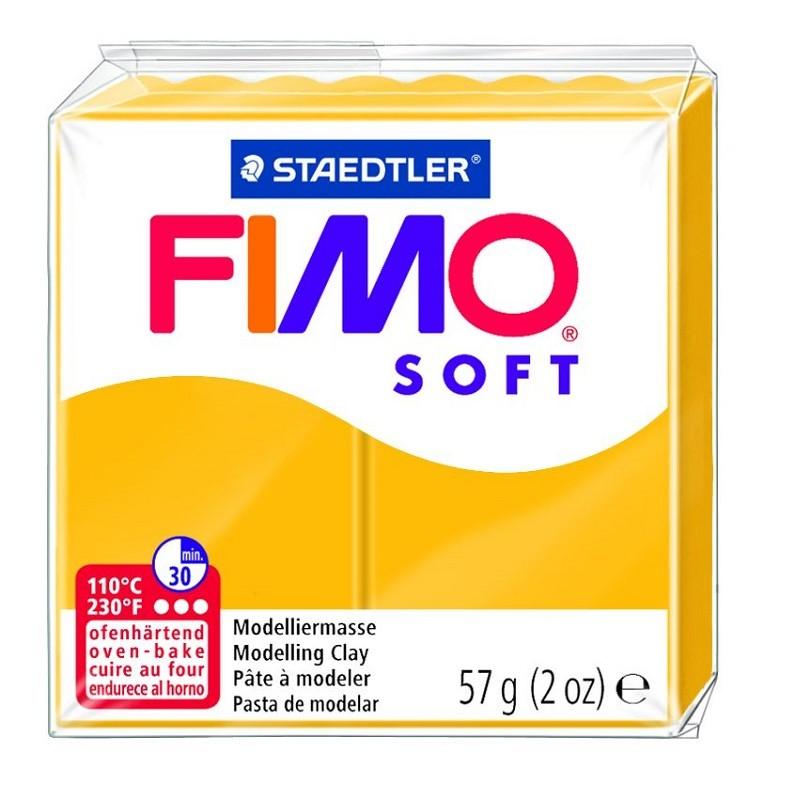 Voolimismass FIMO SOFT 57g, päevalillekollane