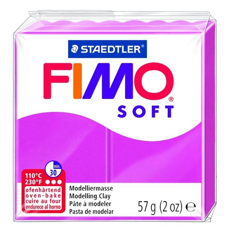 Voolimismass FIMO SOFT 57g, vaarikapunane