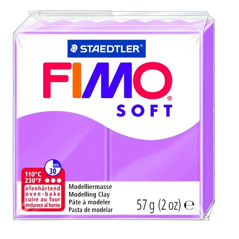 Voolimismass FIMO SOFT 57g, lavendel