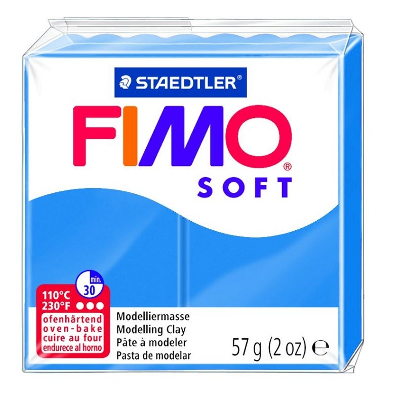 Voolimismass FIMO SOFT 57g, ookeanisinine